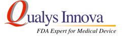 医療機器 FDA  クオリス・イノーバは FDA のエキスパートです!